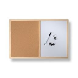 Le tableau d'affichage avec feutre et punaises