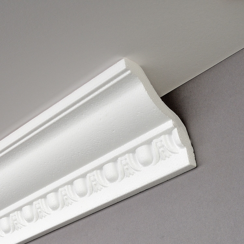 Corniche Polystyrène Pour Led decosa® moulure polystyrène g4 (giselle) - decorer-isoler.fr